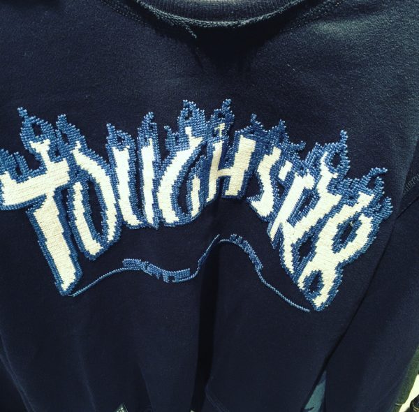Broderie sweat-shirt Trasher